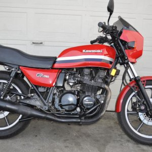 This was my second bike - GPz750
