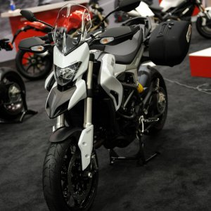 2013 Ducati Hyperstrada - Motorcycle Show