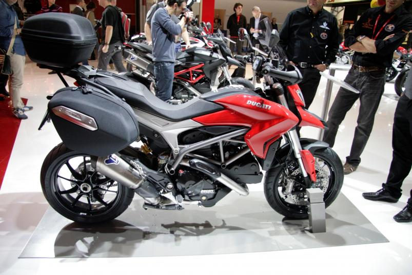 Ducati Hyperstrada at Motorcycle Show
